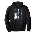 Blue Line New York Distressed National Police Week Gift Pullover Hoodie, T Shirt, Sweatshirt