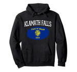 KLAMATH FALLS OR OREGON Flag Vintage USA Sports Men Women Pullover Hoodie, T Shirt, Sweatshirt