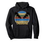 Palm Tree Grunge Oklahoma - Beach Sunset Design Pullover Hoodie, T Shirt, Sweatshirt