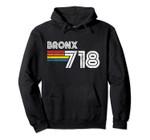 Vintage Bronx Hoodie | Proud 718 New York City State Gift Pullover Hoodie, T Shirt, Sweatshirt