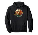 Vintage Retsof, New York Mountain Hiking Souvenir Print Pullover Hoodie, T Shirt, Sweatshirt