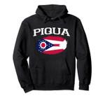 PIQUA OH OHIO Flag Vintage USA Sports Men Women Pullover Hoodie, T Shirt, Sweatshirt
