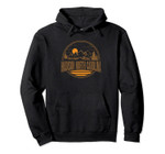 Vintage Madison North Carolina Mountain Hiking Print Pullover Hoodie, T Shirt, Sweatshirt
