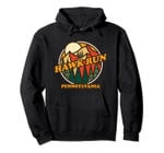 Vintage Pennsylvania Hawk Run Mountain Hiking Souvenir Print Pullover Hoodie, T Shirt, Sweatshirt