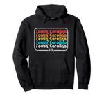 South Carolina Vintage 1970's 1980's Retro Pullover Hoodie, T Shirt, Sweatshirt