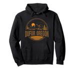 Vintage Dufur, Oregon Mountain Hiking Souvenir Print Pullover Hoodie, T Shirt, Sweatshirt