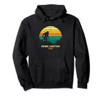 Retro Mingo Junction, Ohio Bigfoot Souvenir Pullover Hoodie, T Shirt, Sweatshirt