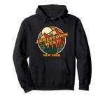 Vintage Jamestown West, New York Mountain Hiking Print Pullover Hoodie, T Shirt, Sweatshirt