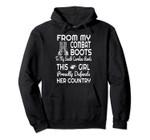 Combat Boots South Carolina Veteran Women's Pullover Hoodie, T Shirt, Sweatshirt