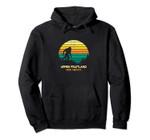 Retro Upper Fruitland, New Mexico Bigfoot Souvenir Pullover Hoodie, T Shirt, Sweatshirt