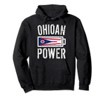 Ohio Flag   Ohioan Power Battery Proud Tee Pullover Hoodie, T Shirt, Sweatshirt