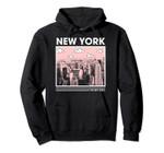 New York The Big Apple Skyline Pullover Hoodie, T Shirt, Sweatshirt