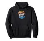 Vintage Empire, Ohio Sunset Souvenir Print Pullover Hoodie, T Shirt, Sweatshirt