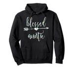 Flowers Cute Tropical Blessed Auntie Hoodie, T Shirt, Sweatshirt