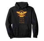 Veni Vidi Vici SPQR Rome Julius Caesar Wordplay Pun Hoodie, T Shirt, Sweatshirt