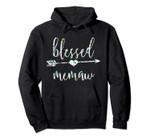 Flowers Cute Tropical Blessed Memaw Hoodie, T Shirt, Sweatshirt