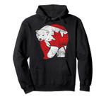 Canadian Bear Maple Leaf Canada Pullover Hoodie, T Shirt, Sweatshirt