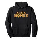 Cute Wild Honey Trending, Vintage Flowers Bee Comb Artwork Pullover Hoodie, T Shirt, Sweatshirt