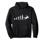 Handball Evolution Fall Throw Handball Vintage Retro Gift Pullover Hoodie, T Shirt, Sweatshirt