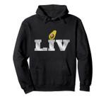 LIV Football Avocado 2020 - Super Vegan Sport Pullover Hoodie, T Shirt, Sweatshirt