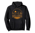 Vintage Dacula, Georgia Mountain Hiking Souvenir Print Pullover Hoodie, T Shirt, Sweatshirt