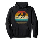 Retro Vintage Sunset Old School American Football Sport Gift Pullover Hoodie, T Shirt, Sweatshirt