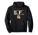 San Francisco Football 8-Bit Helmet Pullover Hoodie, T Shirt, Sweatshirt