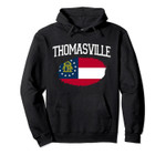 THOMASVILLE GA GEORGIA Flag Vintage USA Sports Men Women Pullover Hoodie, T Shirt, Sweatshirt