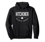 CA Kitchener Ontario Canadian Maple Leaf Pullover Hoodie, T Shirt, Sweatshirt