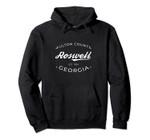 Roswell Georgia Fulton County Retro Logo Pullover Hoodie, T Shirt, Sweatshirt