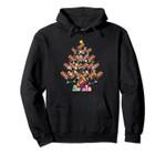 Football Christmas Tree Lights Pullover Hoodie, T Shirt, Sweatshirt