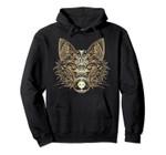 Zen Style Fox Sacred Geometry Cute Animal & Nature Lover Pullover Hoodie, T Shirt, Sweatshirt