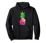 Cool Pineapple Flowers For Cute Beach Lovers Gift Pullover Hoodie, T Shirt, Sweatshirt