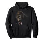Gorilla in a Suit Pullover Hoodie, T Shirt, Sweatshirt
