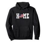 Washington American Flag Home State Shape Vintage Distressed Pullover Hoodie, T Shirt, Sweatshirt