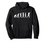 Evolution football Pullover Hoodie, T Shirt, Sweatshirt