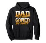 Gamer Dad Hoodie Arcade Video Game Gaming Retro Daddy Pullover Hoodie, T Shirt, Sweatshirt