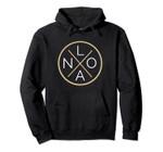 New Orleans City Football NO LA Badge Pullover Hoodie, T Shirt, Sweatshirt