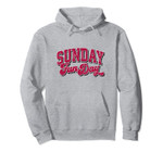 Vintage Sunday Funday Arizona Football Retro Fun Day Pullover Hoodie, T Shirt, Sweatshirt