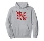 Tic Tac Toe Intelligence Game Gift long Pullover hoodie Pullover Hoodie, T Shirt, Sweatshirt