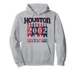 Houston City 2002 Football Skyline Throwback Pullover Hoodie, T Shirt, Sweatshirt