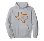 Texas Football Long Horn Hand Sign Pullover Hoodie, T Shirt, Sweatshirt