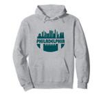 Philadelphia Skyline Football Fan Pullover Hoodie, T Shirt, Sweatshirt