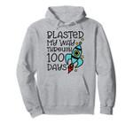 Blasted My Way Through 100 Days of School Rocket Cute Funny Pullover Hoodie, T Shirt, Sweatshirt
