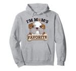 Bulldog I'm Mom's Favorite Cute Funny Hoodie, T Shirt, Sweatshirt