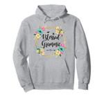 Womens Blessed Grammie Cute Flower Grammie Gift Tee Pullover Hoodie, T Shirt, Sweatshirt