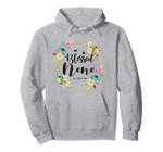 Womens Blessed Nene Cute Flower Nene Gift Tee Pullover Hoodie, T Shirt, Sweatshirt