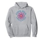 JCombs: Costa Rica, Compass Rose Pullover Hoodie, T Shirt, Sweatshirt