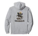 Georgian Patriotic Gift Pullover Hoodie, T Shirt, Sweatshirt