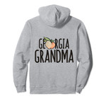 Georgia Grandma peachy artwork Proud Georgian Pullover Hoodie, T Shirt, Sweatshirt